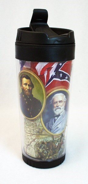 Civil War Travel Tumbler
