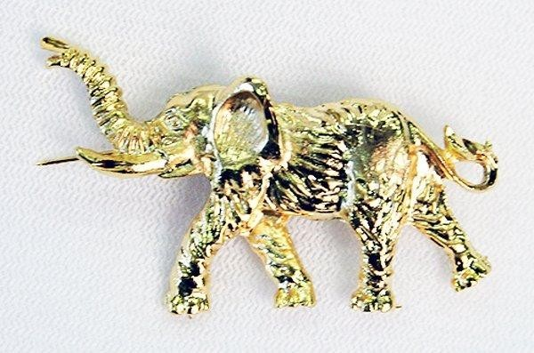 Gold Elephant Pin