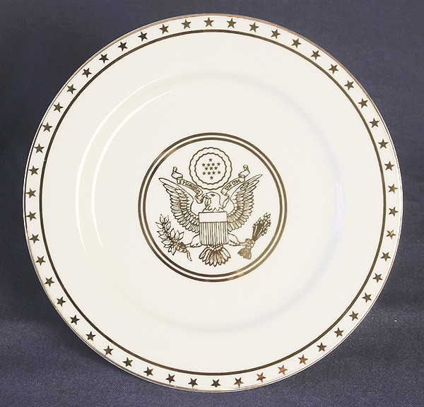 Great Seal Luncheon Plate