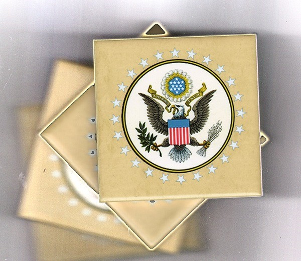 Great Seal Coaster Tiles