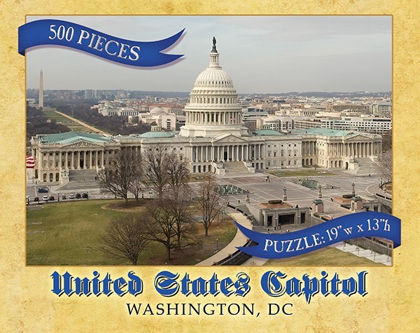 East Front Capitol Puzzle