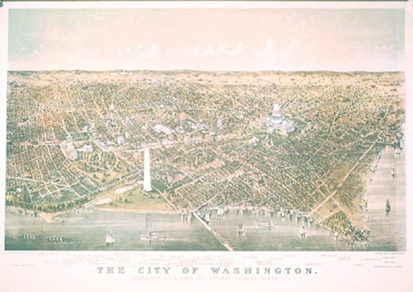 Washington DC 1892 Print