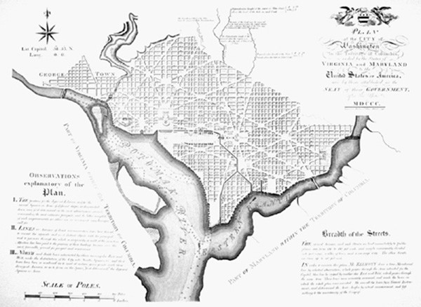 Washington DC 1792