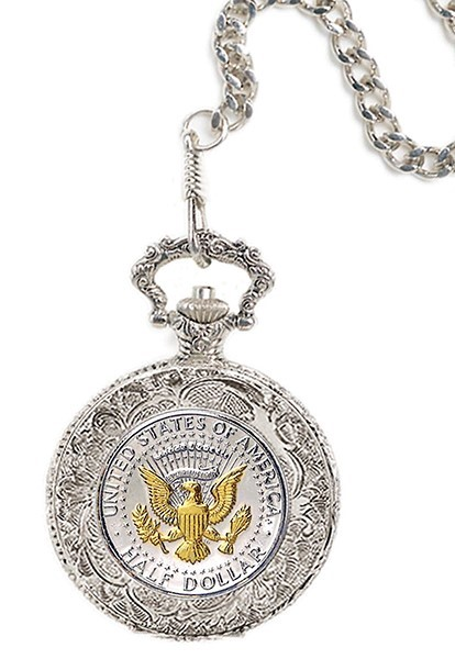 Presidential Seal Pocket Watch