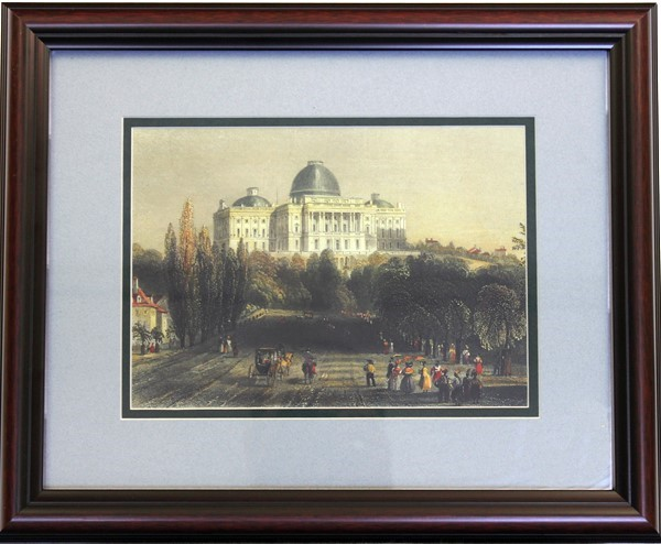 Framed View of capitol