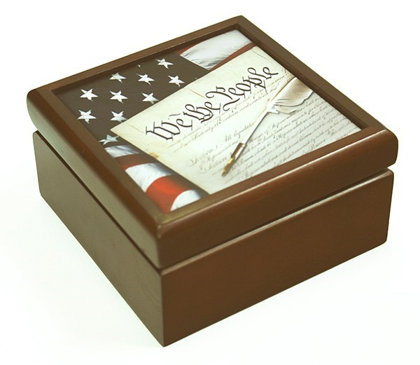 Constitution Keepsake Box