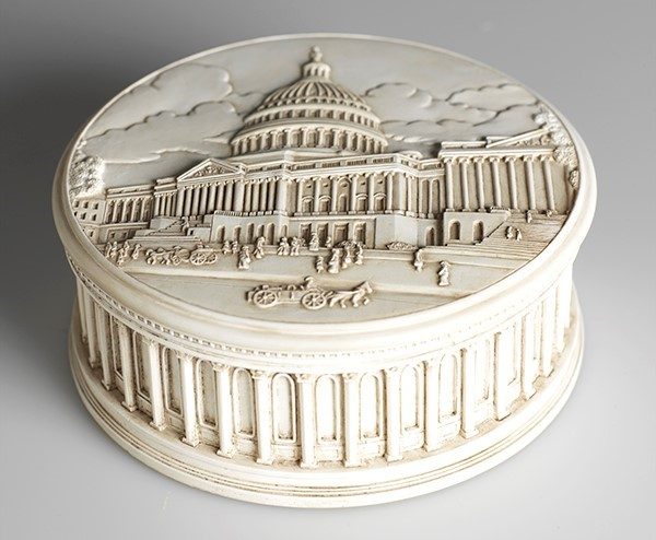 Capitol Inspired Keepsake Box