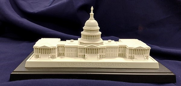 Large Capitol Desk Sculpture