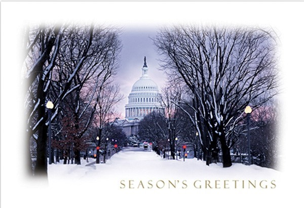 Winter Snow Holiday Cards