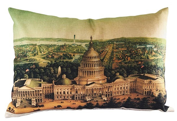 Linen Capitol Pillow